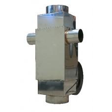 Ekonomizér spalin-Rekuperátor 450 m3/h. Umožňuje získat až 40% unikajícího tepla do komína