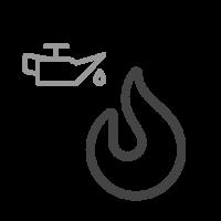 Kamna na olej Kotram typ MTM